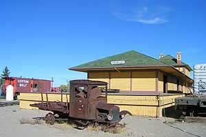 Fernley & Lassen RR depot, Fernley Nevada