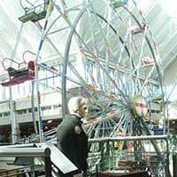 President Andrew Jackson and the Ferris Wheel at Scheel's
