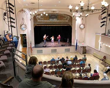 Nevada Fiddler's Contest at the Eureka Opera House