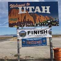 2018 OATBRAN finish line, Baker Nevada
