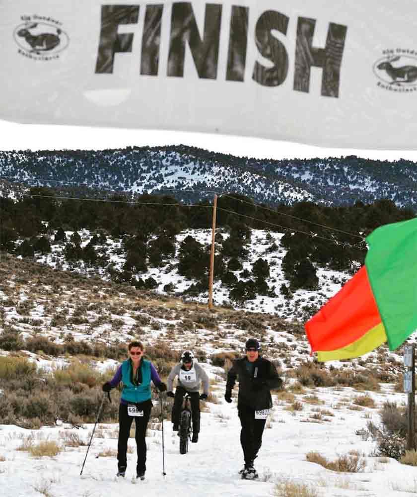 Finish Line, Bristlecone Birkebeiner, Ely Nevada