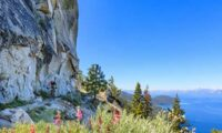 Tahoe Flume Trail, photo by Brenda Ernst