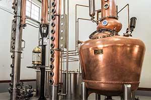 Vendom Pot Still at the Frey Ranch Estate Distillery, Fallon Nevada