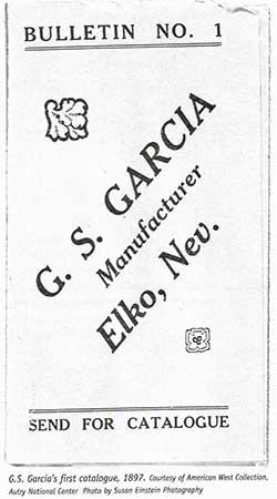 G.S. Garcia catalogue