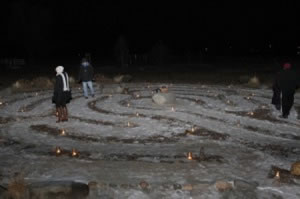 3rd Annual New Year's Eve Candlelight Labyrinth Walk