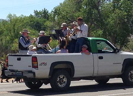 Geezers Band at Snake Valley Days, Baker Nevada