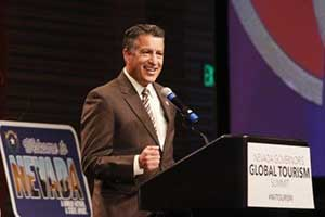Nevada Governor Brian Sandoval at the 2016 Governor's Global Tourism Summit