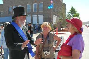 David Toll Grand Marshal,2010 Goldfield Days Parade