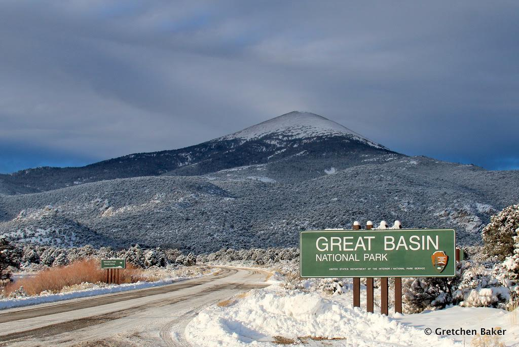 great basin park sign