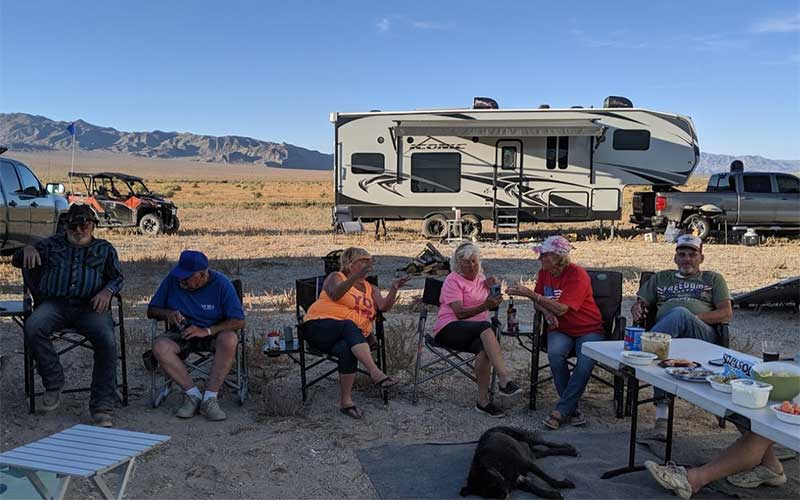 Picon Pioneers in Silver Peak Nevada