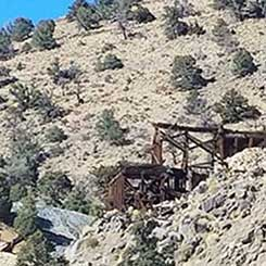 Gunmetal Mine near Mina Nevada