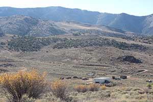 The view over Hamilton Nevada