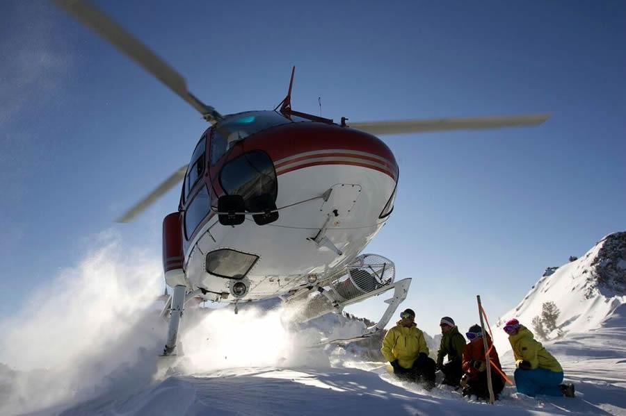 Heli Ski the Rubies