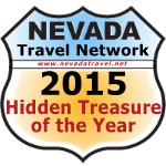 Nevada Travel Network's 2015 Hidden Treasure of the year