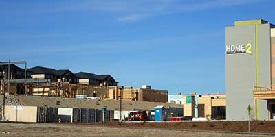 Home2 Suites under construction at Elko Nevada