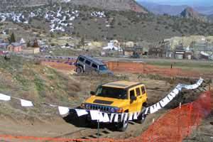 Hummers in Virginia City Nevada