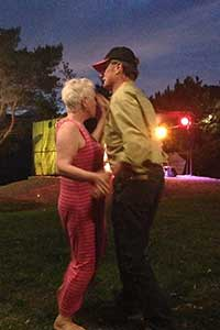 Joe and Ann McCarthy are dancing.