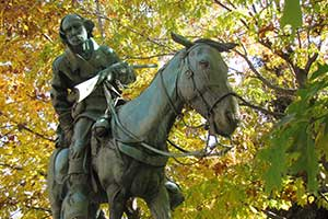 Kit Carson Sculpture at the Capitol Plaza, Carson City Nevada