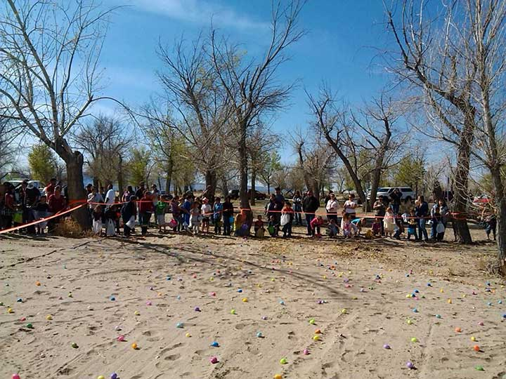 Easter at Lake Lahontan Nevada