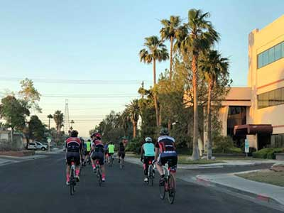 Biking in Las Vegas