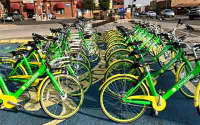 Lime bikes leaves Reno