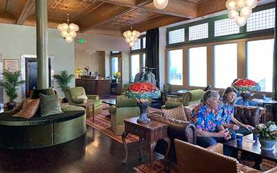 Belvada Hotel lobby Tonopah Nevada