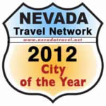Nevada Travel Network 2012 City of the year