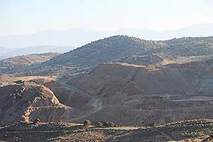 Lucerne Pit, Open Pit by Comstock Mining