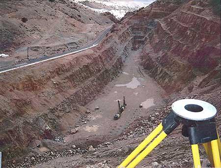 Lucerne Pit, Gold Hill Nevada