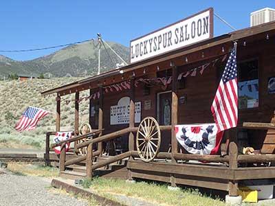 Lucky Spur Saloon, Kingston Nevada