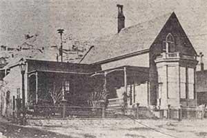 Mackay residence, Taylor and Howard streets, Virginia City Nevada