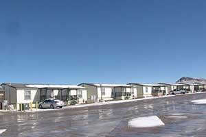 """Man Camp"" rental units, Tonopah Nevada"