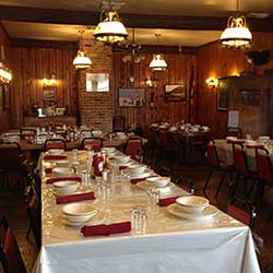 Dining Room at the Martin Hotel, Winnemucca Nevada
