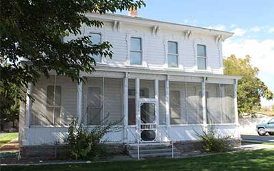 Marzen House Museum, Lovelock Nevada