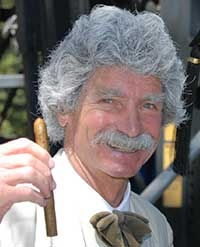 McAvoy Layne is the Ghost of Mark Twain