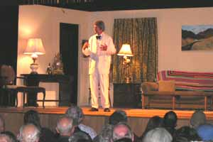 McAvoy Layne as Mark Twain in Hwthorne Nevada