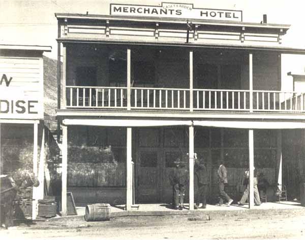 The Merchants Hotel, Tonopah.