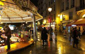 Merry-Go-Round on Rue de Rivoli