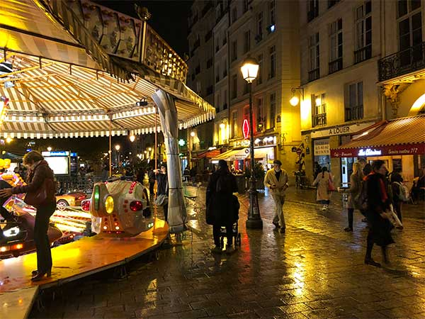 Merry-Go-Round on Rue de Rivoli