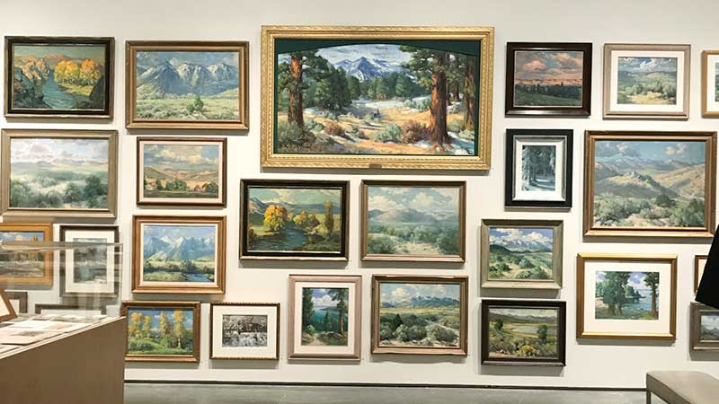 Hans Meyer-Kassel at the Nevada Museum of Art, Reno
