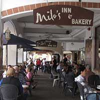Milo's sidewalk cafe, Boulder City Nevada
