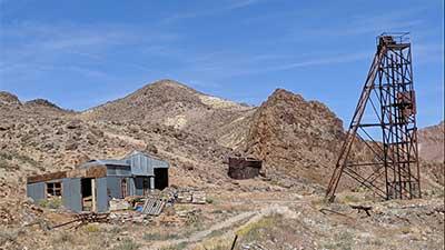 Mohawk Mine, Esmeralda County Nevada