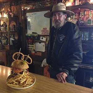The Monsterburger, Middlegate Nevada