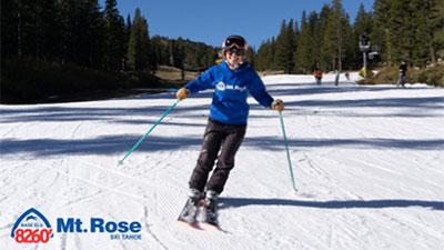 Mt Rose skier