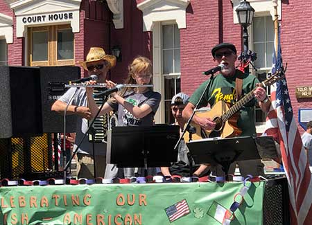 Eureka's Irish band