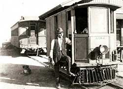 Nevada Central RR Motor Car No 102