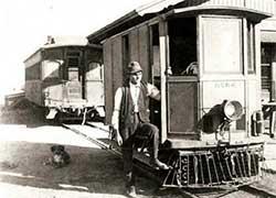 Nevada Central RR Motor Car No 102
