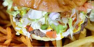 Custom neighborhood burger