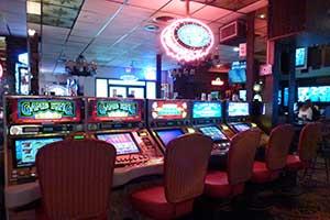 Slot machines, Hotel Nevada, Ely Nevada
