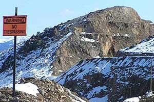 No Trespassing, Gold Hill Nevada